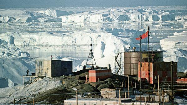 Советская геофизическая обсерватория Мирный в Антарктиде