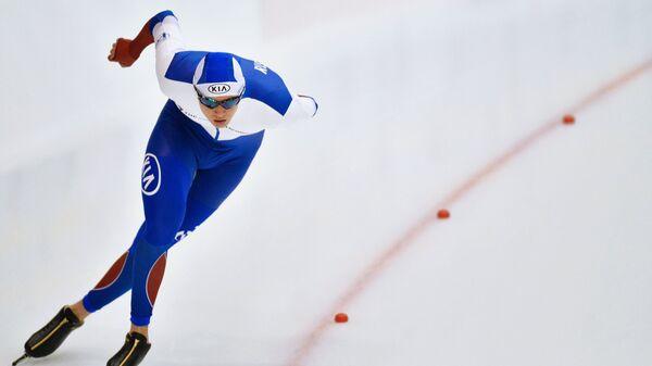 Российский конькобежец Данила Семериков. Архивное фото