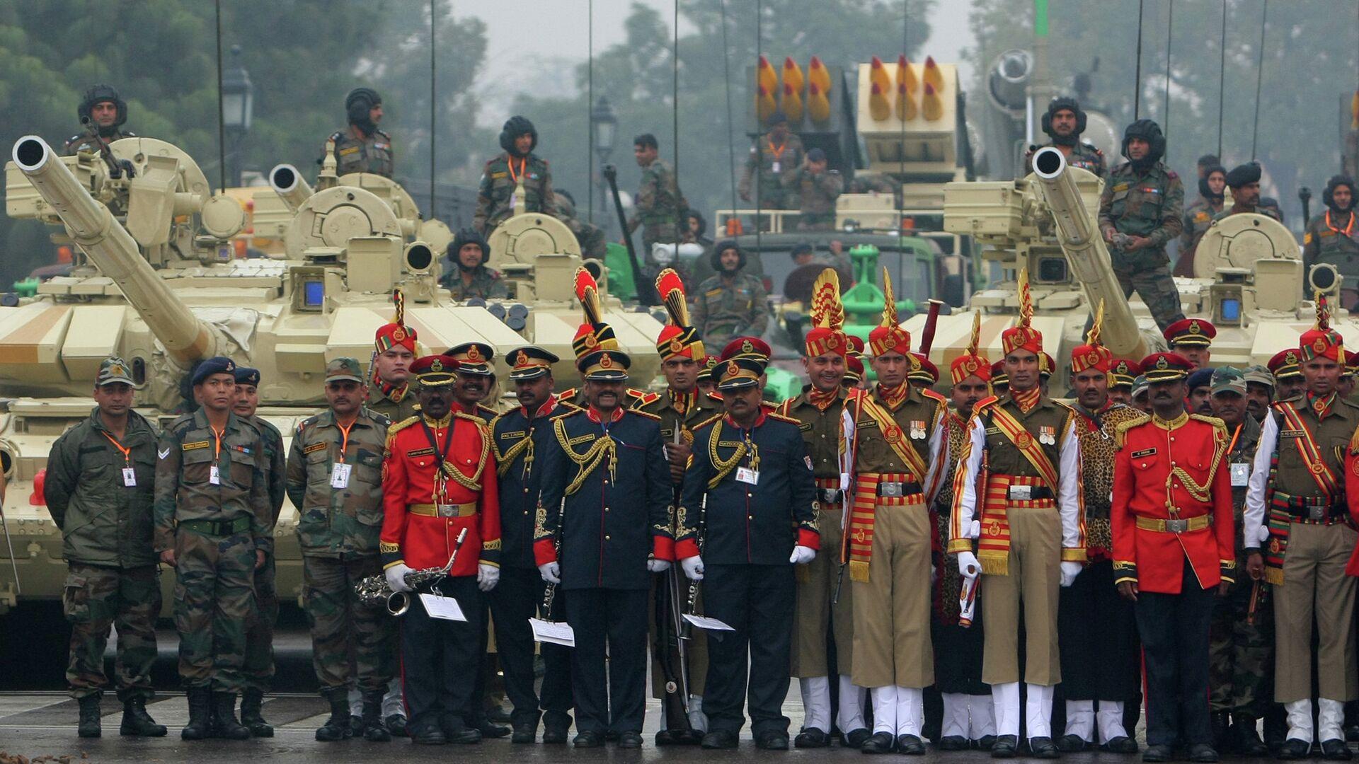 Парад в честь празднования Дня Республики в Индии - РИА Новости, 1920, 25.09.2021