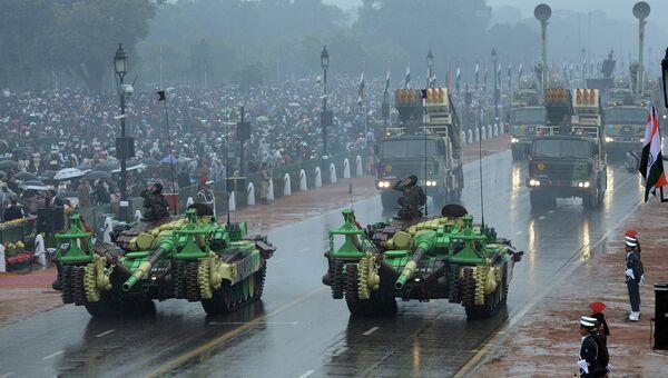 Парад в честь празднования Дня Республики в Индии. Архивное фото