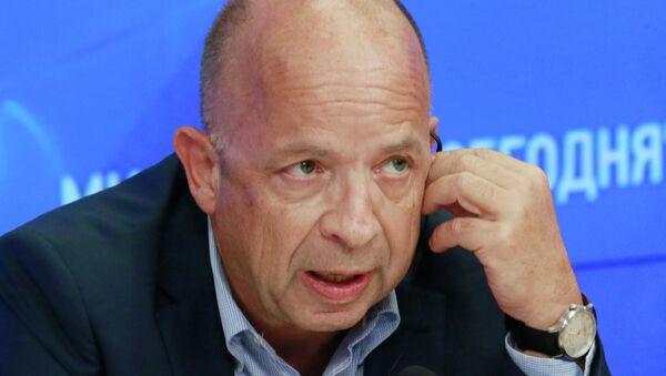 Пресс-конференция Лорана Корба в МИА Россия Сегодня. Архивное фото