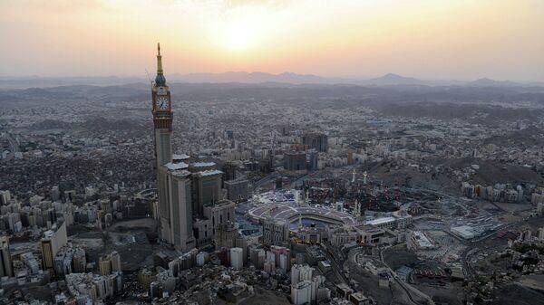 Вид на Мекку, Саудовская Аравия. Архивное фото