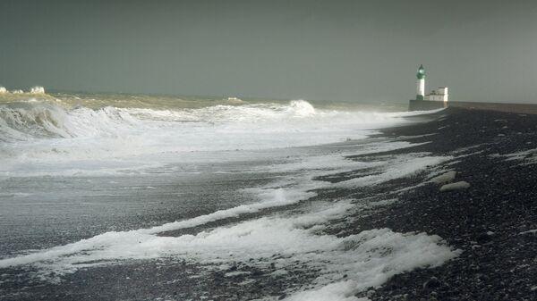 Вид на пролив Ла-Манш