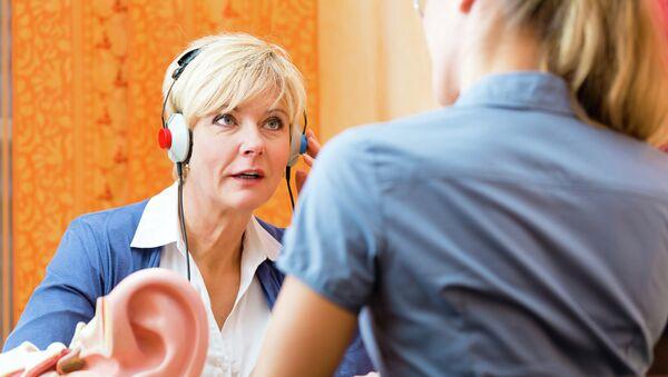 Тестирование оборудования для слабослышащих