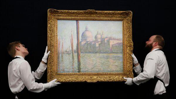Картина Клода Моне Гранд-канал в Венеции