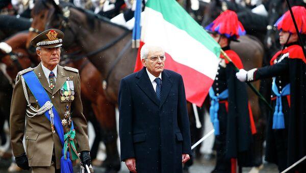 Избранный президент Италии Серджо Маттарелла вступил в должность. Рим, 3 февраля 2015