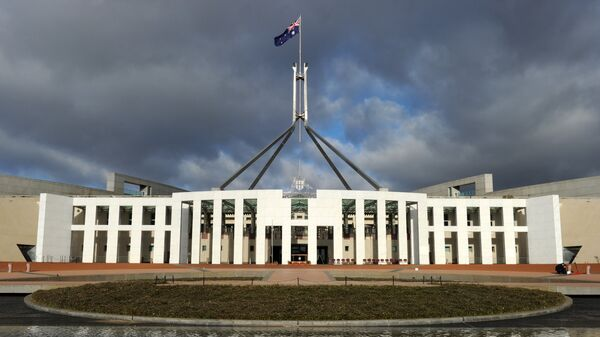 Здание парламента Австралии в Канберре. Архивное фото