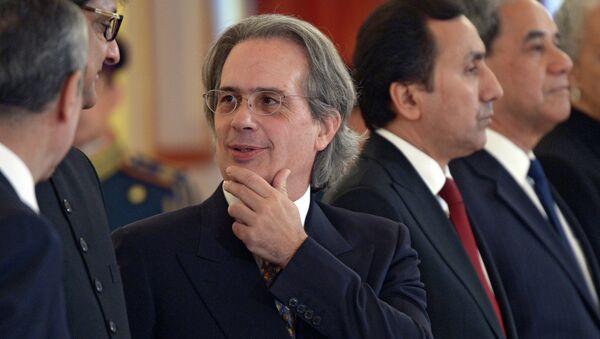 Посол Аргентинской Республики Пабло Ансельмо Теттаманти. Архивное фото