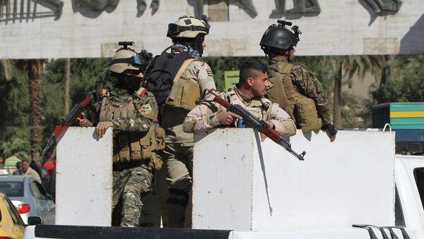 Военный патруль в Багдаде. Архивное фото