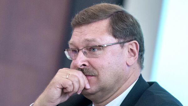 Руководитель Федерального агентства по делам СНГ по международному гуманитарному сотрудничеству Константин Косачев