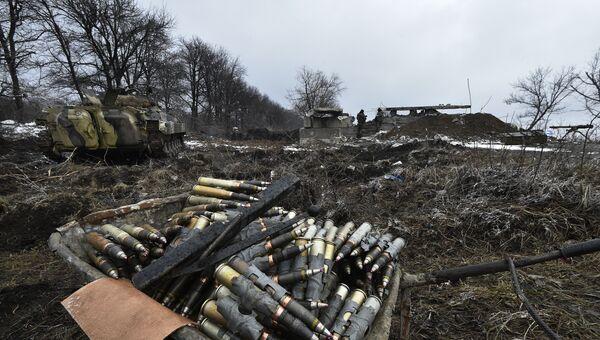Снаряды в полях. Архивное фото