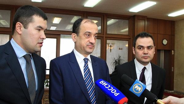 Посол Турции в России Умит Ярдым. Архивное фото