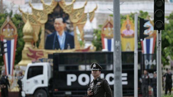 Офицер полиции Тайланда. Архивное фото