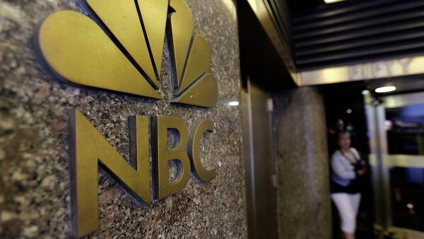 Эмблема канала NBC, Рокфеллеровский центр, Нью-Йорк