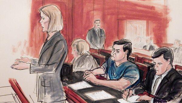 Процесс над Евгением Буряковым, обвиняемым в США в шпионаже в пользу России