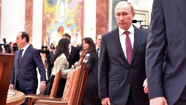 Президент России Владимир Путин. Архивное фото.