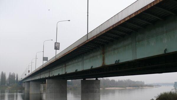 Лазенковский мост в Варшаве