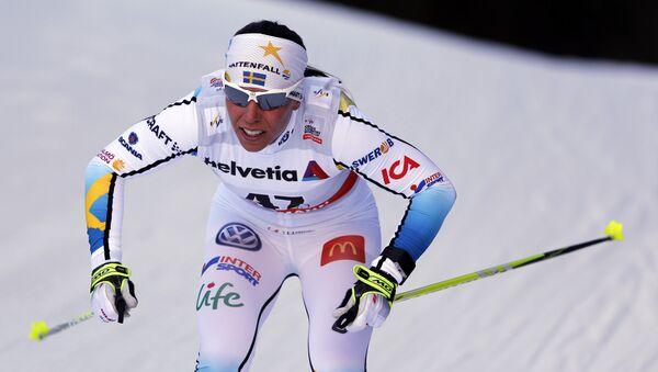 Шведская лыжница Шарлотта Калла. Архивное фото