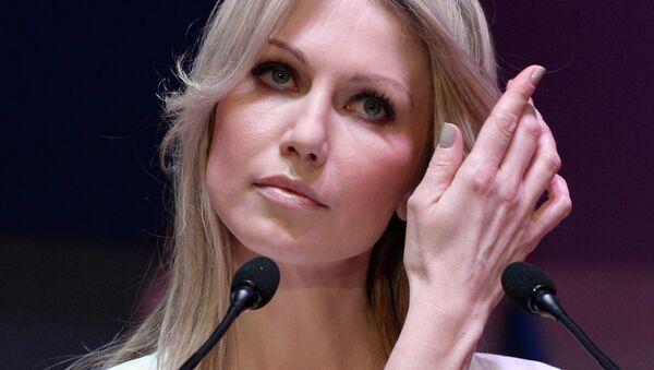 Кандидат в президенты Польши от Союза демократических левых сил Магдалена Огорек, архивное фото