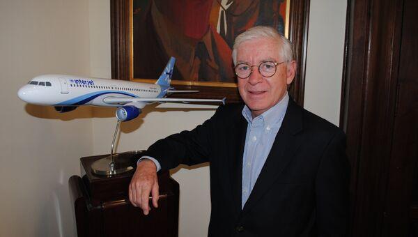 Генеральный директор авиакомпании Interjet Хосе Луис Гарса. Архивное фото