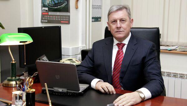 Руководитель делегации Рособоронэкспорта на  Aero India-2015 Сергей Гореславский. Архив