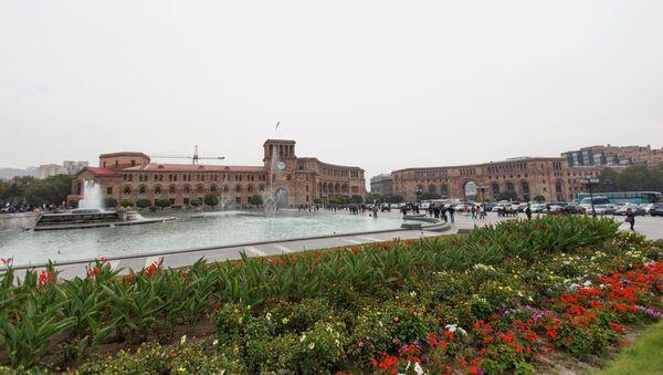 Ситуация в Ереване. Архивное фото