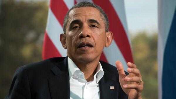 Б.Обама. Архивное фото