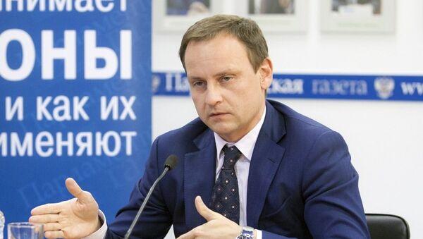 Депутат Госдумы (Единая Россия) Александр Сидякин . Архивное фото