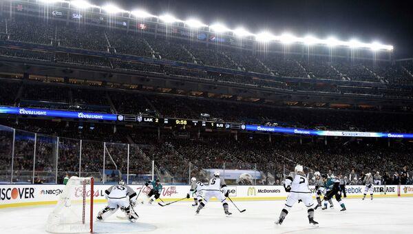 Матч Сан-Хосе - Лос-Анджелес в НХЛ, 21 февраля 2015