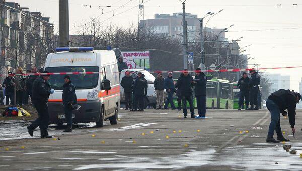В Харькове во время шествия прогремел взрыв. Архивное фото