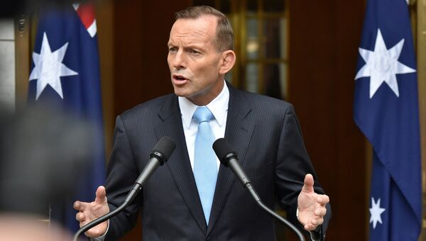 Премьер-министр Австралии Тони Эбботт. Архивное фото