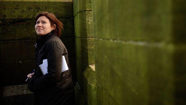 Российская журналистка Мария Головнина, возглавлявшая бюро агентства Рейтер по Афганистану и Пакистану. Архивное фото