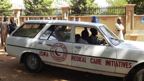 Скорая помощь в Нигерии. Архивное фото