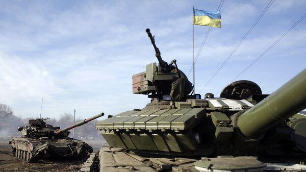 Военная техника украинской армии. Архивное фото.