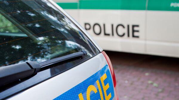 Автомобили полиции Чехии. Архивное фото