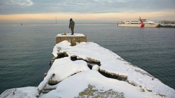 Таллин. Балтийское побережье зимой