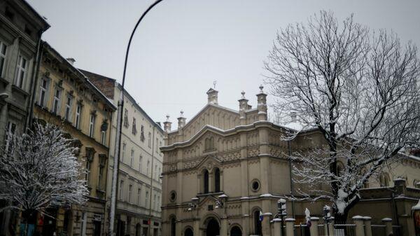 Города мира. Краков, Польша. Архивное фото