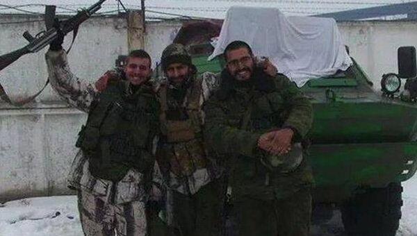 Фотография испанцев, воевавших в Донбессе