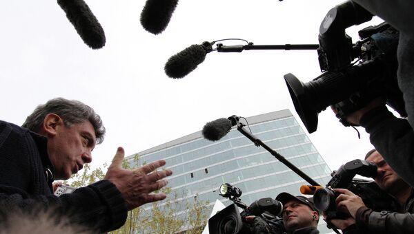 Сопредседатель Партии Народной Свободы (ПАРНАС) Борис Немцов. Архивное фото