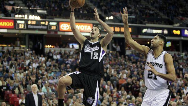 Матч НБА Сан-Антонио Сперс - Сакраменто Кингз, 28 февраля 2015