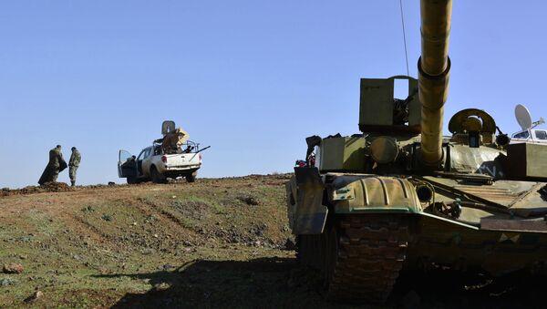 Правительственные войска Сирии. Архивное фото