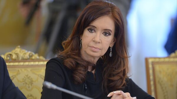 Экс-президент Аргентины Кристина Фернандес де Киршнер. Архивное фото
