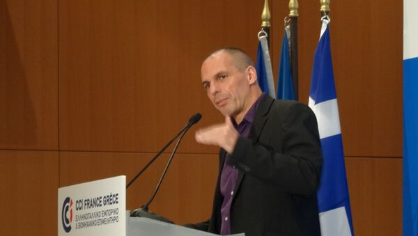 Министр финансов Греции Янис Варуфакис. Архивное фото