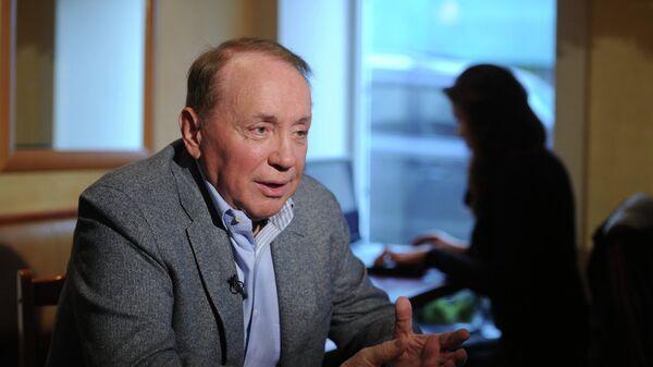 Телеведущий Александр Масляков. Архивное фото
