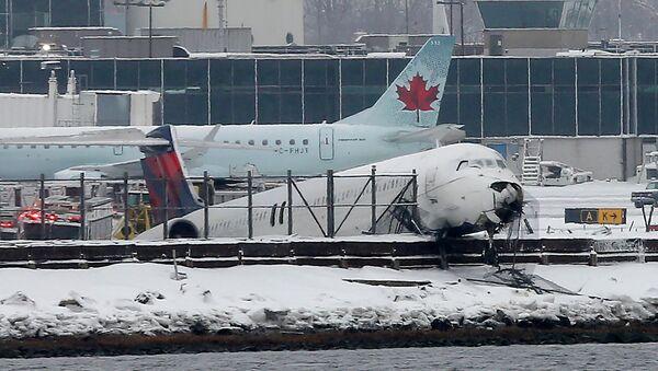 ЧП с самолетом McDonnell Douglas MD-80 в Нью-Йорке