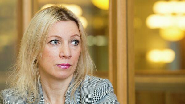 Заместитель директора Департамента информации и печати МИД РФ Мария Захарова. Архивное фото