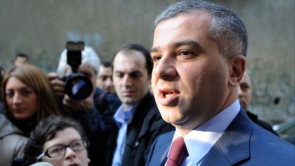 Грузинский политик Давид Бакрадзе. Архивное фото