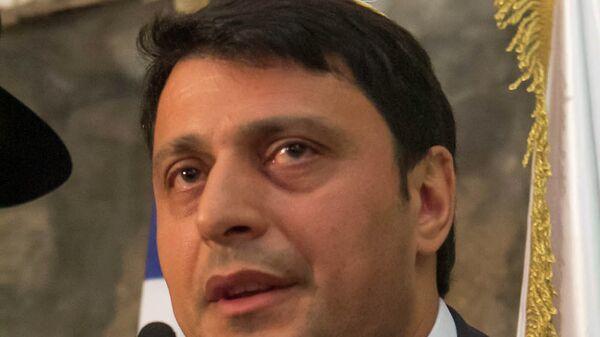 Президент Международного фонда горских евреев Герман Захарьяев