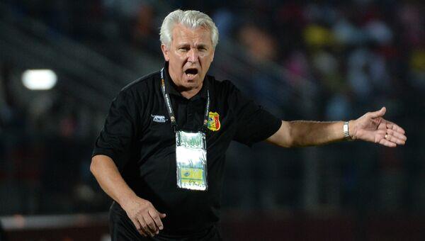 Главный тренер сборной Мали по футболу Хенрик Касперчак. Архивное фото