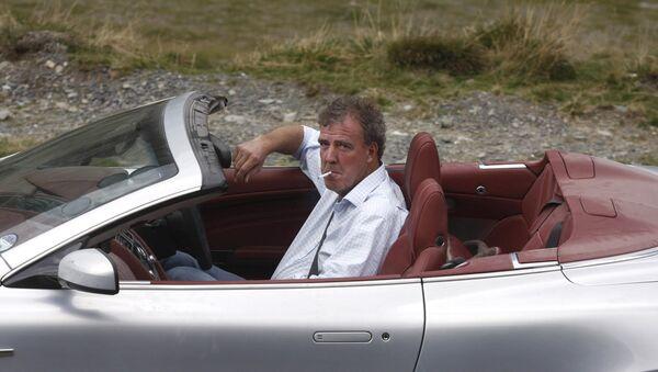 Ведущий передачи об автомобилях Top Gear Джереми Кларксон. Архивное фото